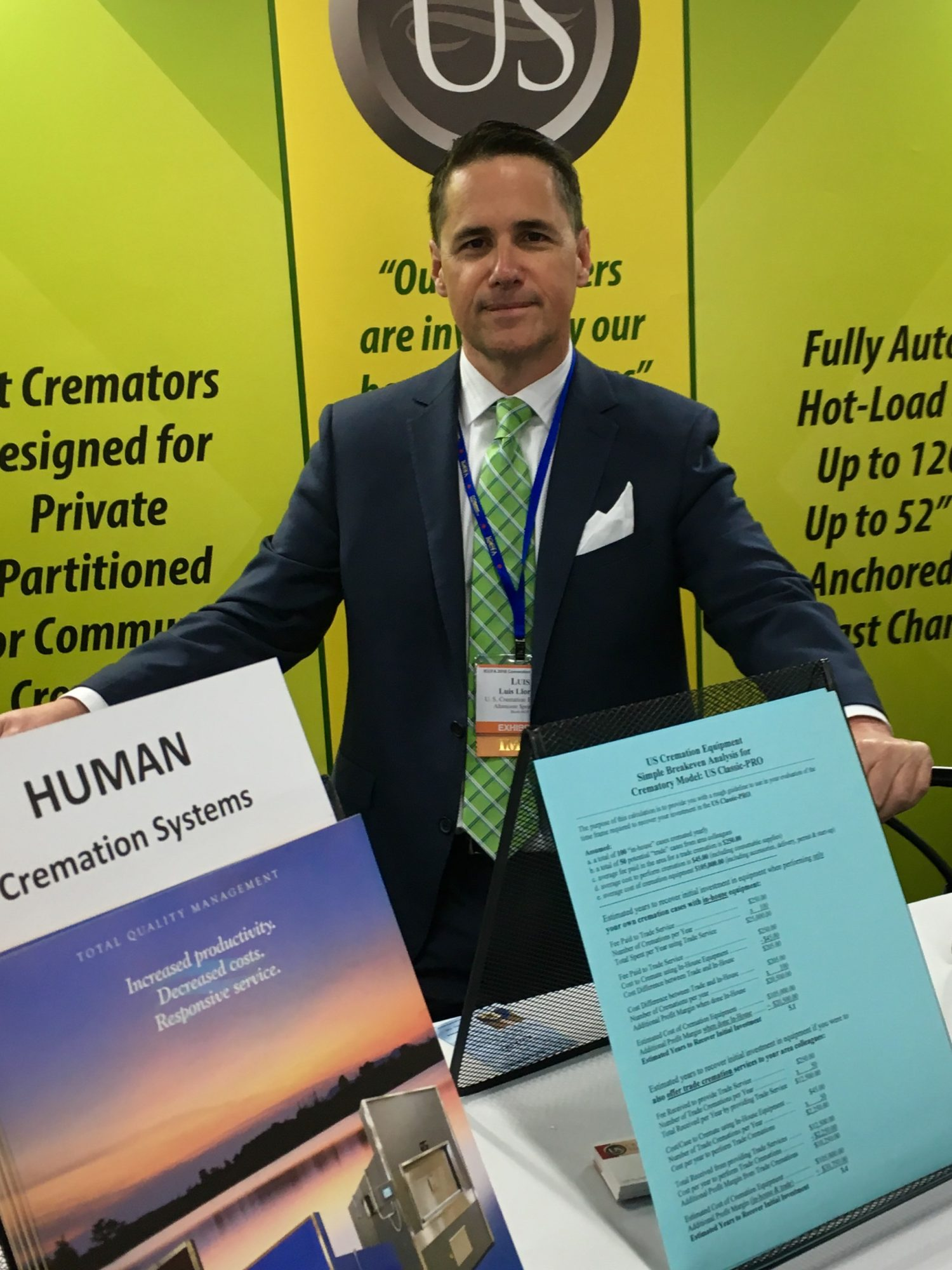 2018 ICCFA tradeshow in Las Vegas
